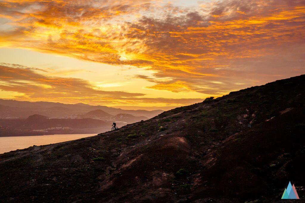 Biking in Gran Canaria - Sunset Las Palmas