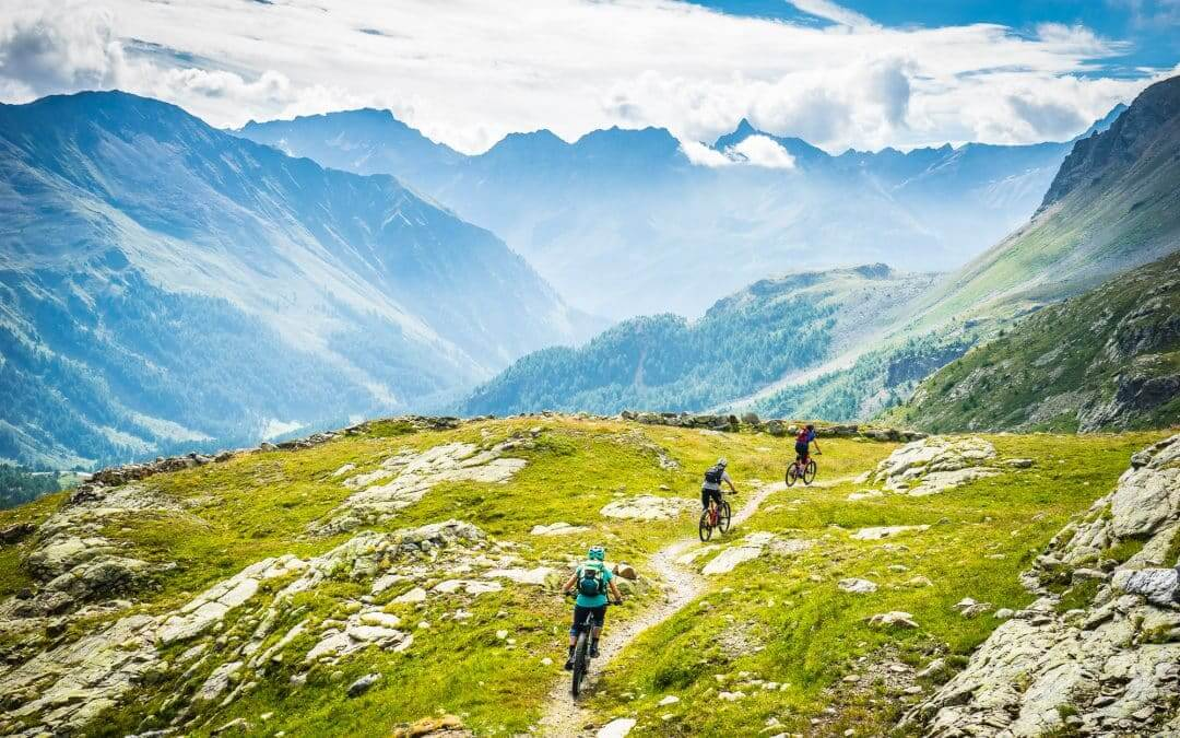Riding the best trails in St. Moritz? Hammer days!