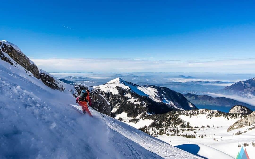 Zwischen Seen und hohen Bergen – die etwas andere Skitour zum Glattgrat