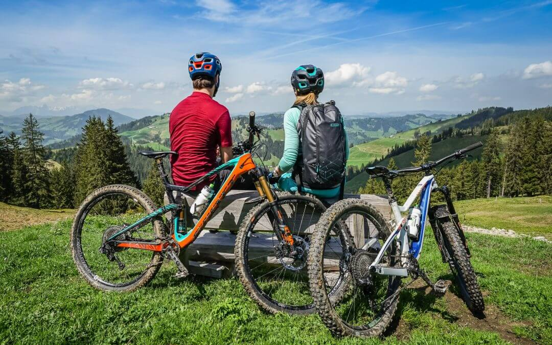 Around the Schrattenfluh – Mountain biking around this iconic Entlebucher mountain