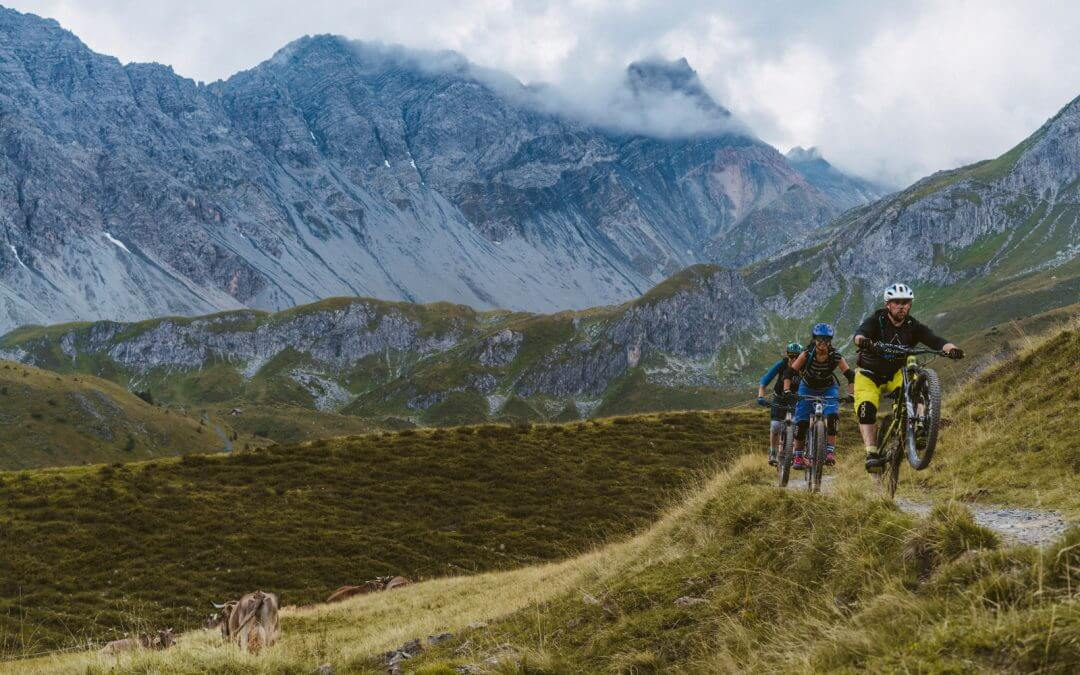Home of Trails – vier Tage Enduro-Spass in Graubünden