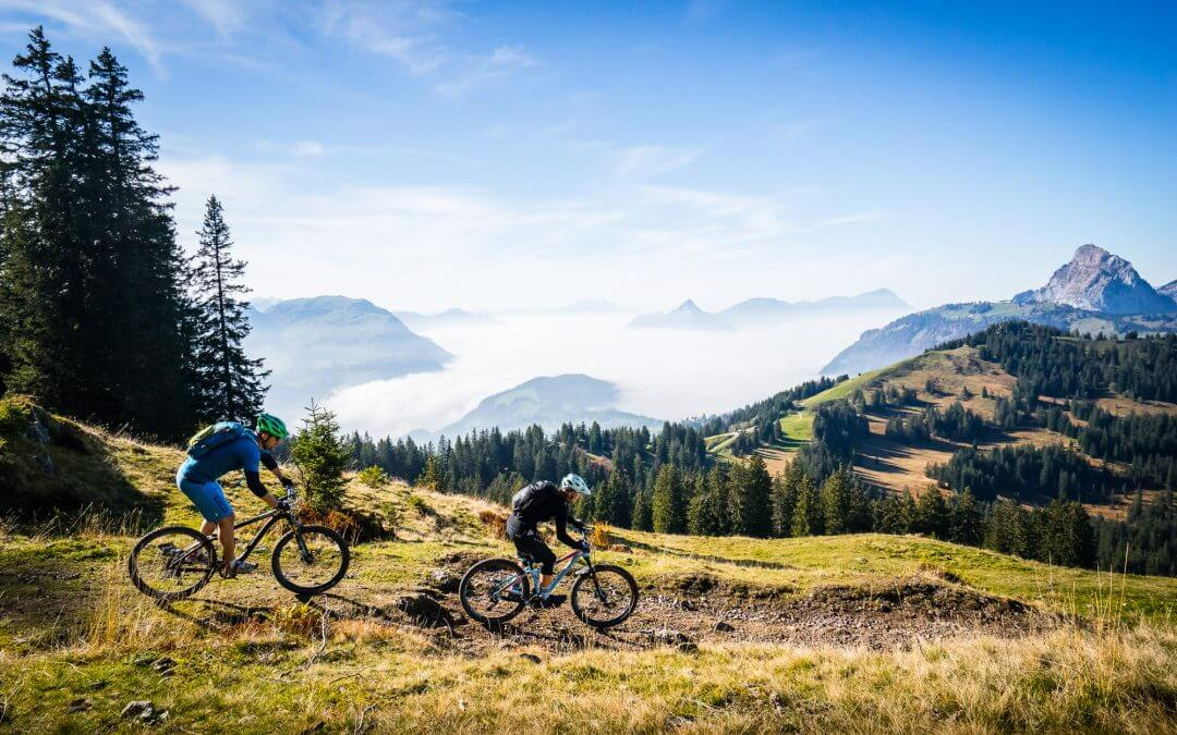 Mountainbiken in der Mythenregion – Genuss pur!