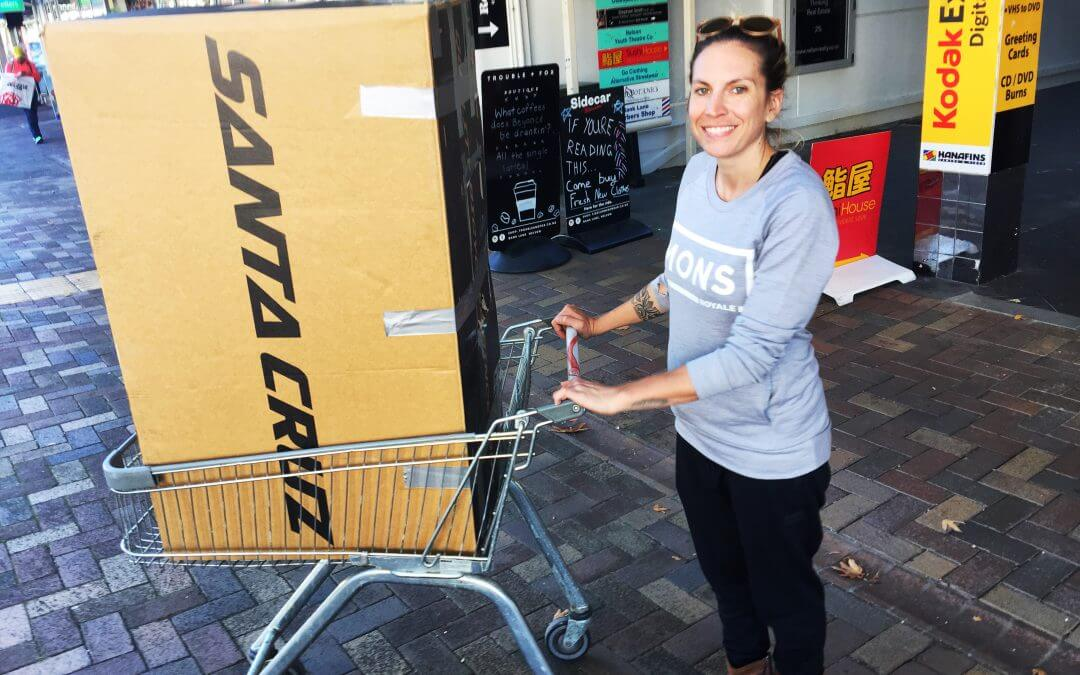 Cheapest way to ship a bike from Switzerland to New Zealand and back